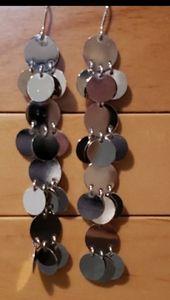 Sterling Silver Lightweight Dangle Earrings